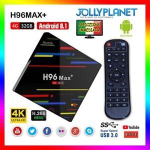 H96-Max-Plus-Android-8-1-4GB-32GB-TV-BOX-RK3328-4K-USB-3-0-Quad-Core-2-4G-Wifi