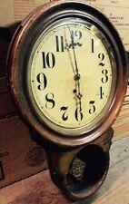 Antique Ingraham ? Dew Drop Wall Clock - E & J Swigart