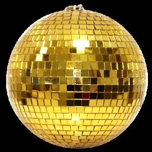 Spiegelkugel-10cm-gold-Discokugel-Mirrorball-10cm-gold