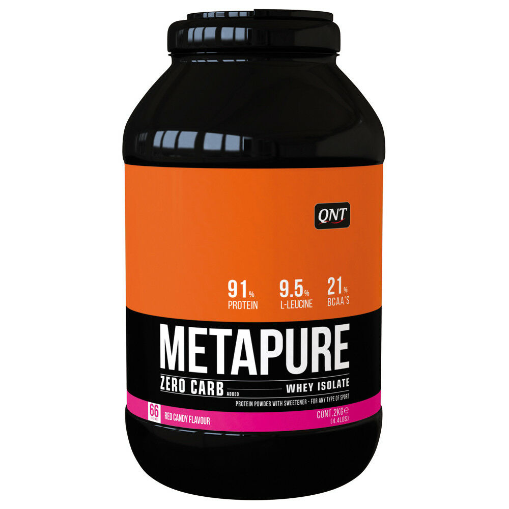 ( /1kg) QNT Zero Carb Metapure 2kg; ROT Candy Whey Isolate