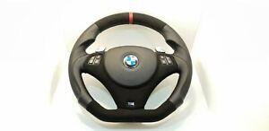 BMW E90 E91 E92 E93 E87 E81 E88 Sport NEW Alcantara Steering Wheel M-Stitching