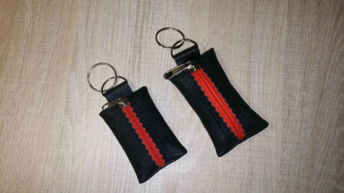 100/% Real Genuine Leather Keyring Key Pouch Purse Wallet Coins Keychain Kids
