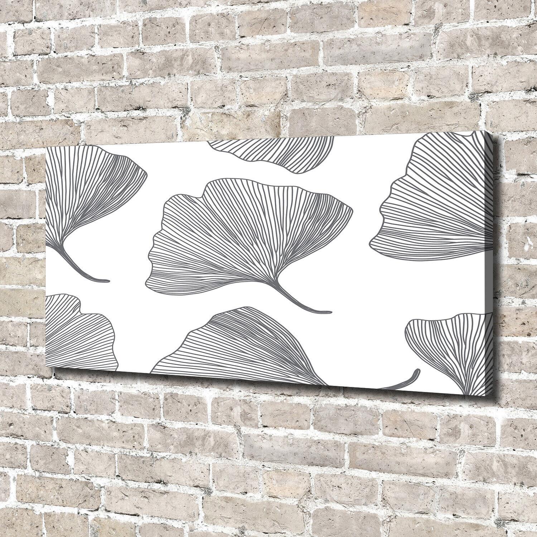 Leinwandbild Kunst-Druck 140x70 Bilder Blaumen & Pflanzen Ginkgo