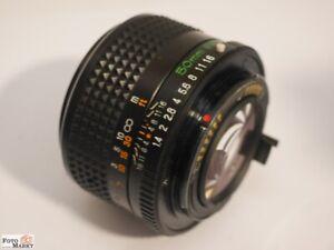 Mamiya-Sekor-EF-Objektiv-1-4-50-mm-49-Standardobjektiv-fuer-SLR-Kamera-35-mm