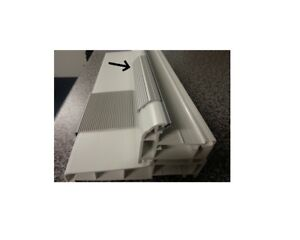 Upvc Door Bottom Threshold Rail Kick Strip 1000mm Long
