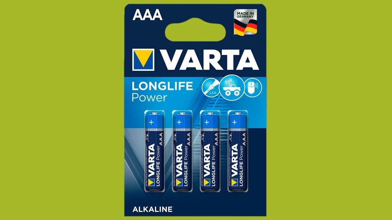 20 x Batteries Varta Longlife Power (Highenergy) AAA Micro LR3 10 Years New
