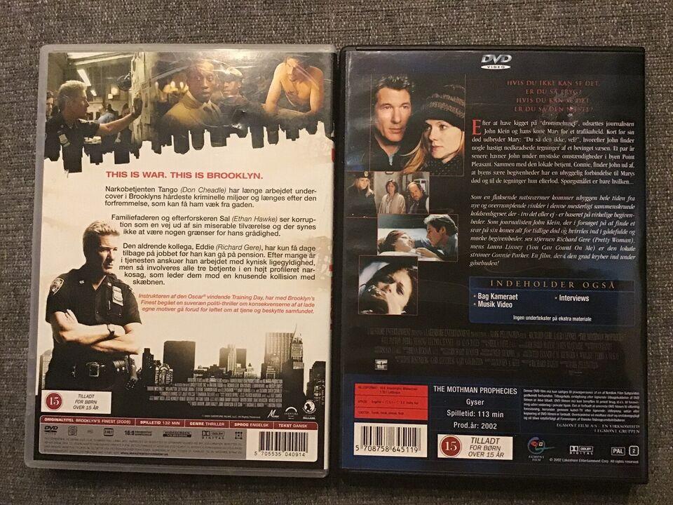 Richard Gene, DVD, thriller