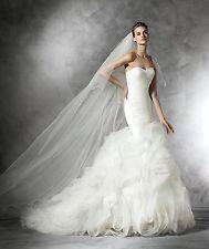 PRONOVIAS 2017 Mildred mermaid gown wedding dress NWT size 2 Vera Wang style