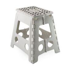 Large Multi Purpose Fold Step Stool Plastic Home Kitchen Foldable Easy Storage