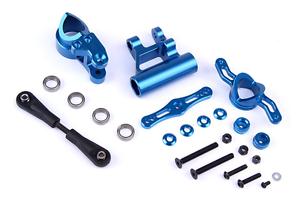 Grupo director CNC Metal Arms Traje Conjunto Azul Ajuste Losi 5ive-T piezas Rovan LT