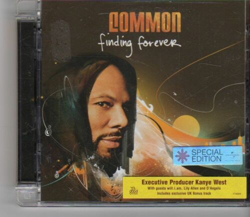 1 of 1 - (GA450) Common, Finding Forever - 2007 CD