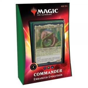 Enhanced Evolution Magic the Gathering Ikoria Commander Deck 2020