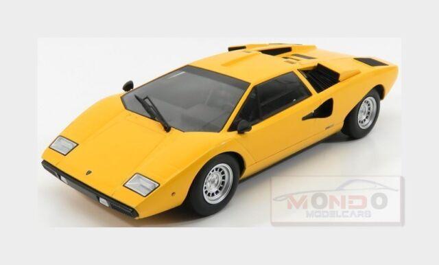 Kyosho 1/18 Lamborghini Countach Lp400 Yellow