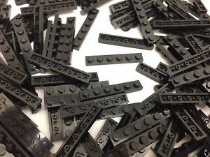 LEGO 10 x plaque 3666 noir 1x6