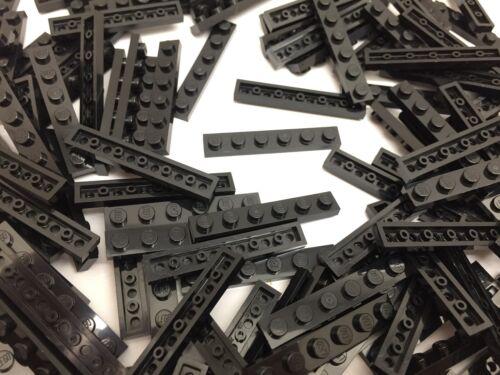 Lego 3666-Novo Preto 1x6 Placa De Tijolo//15 peças por pedido