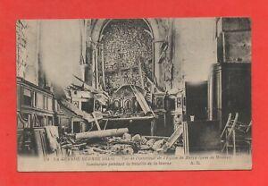France-Guerre-1914-1918-Interieur-de-l-039-eglise-de-BARCY-K922