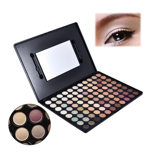 88 Colours Eyeshadow Eye Shadow Palette Make up Kit Set Neutral Professional Box