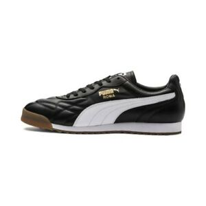 Puma-Roma-Anniversario-Sneakers-Black-Mens-US-10-5-BNIB-UK-9-5-EUR-44
