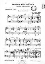 Karl Komzàk: Erzherzog Albrecht-Marsch. Noten für Salonorchester