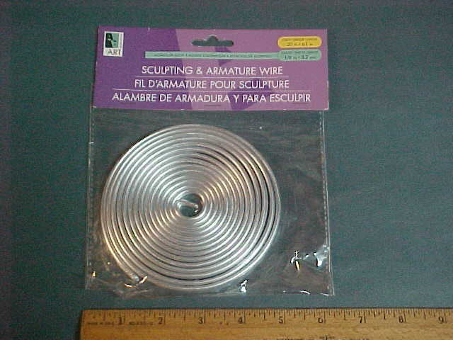 Armature Wire 1//16in X32ft Coil