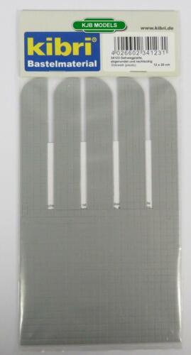 BNIB OO HO GAUGE KIBRI 34123 SIDEWALK PAVEMENT PLASTIC SHEET 12cm x 20cm