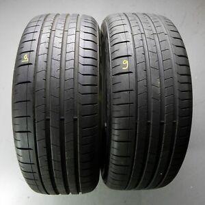 2x-Pirelli-P-Zero-MO-255-50-r19-107-W-Dot-0618-6-mm-pneus-d-039-ete
