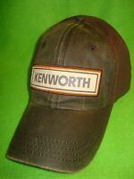 Kenworth Hat: Waxy Brown Kenworth Cap Free Shipping