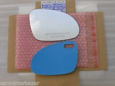 502RC MIRROR GLASS + FULL ADHESIVE VW Jetta Passat EOS GTI Rabbit Passenger Side