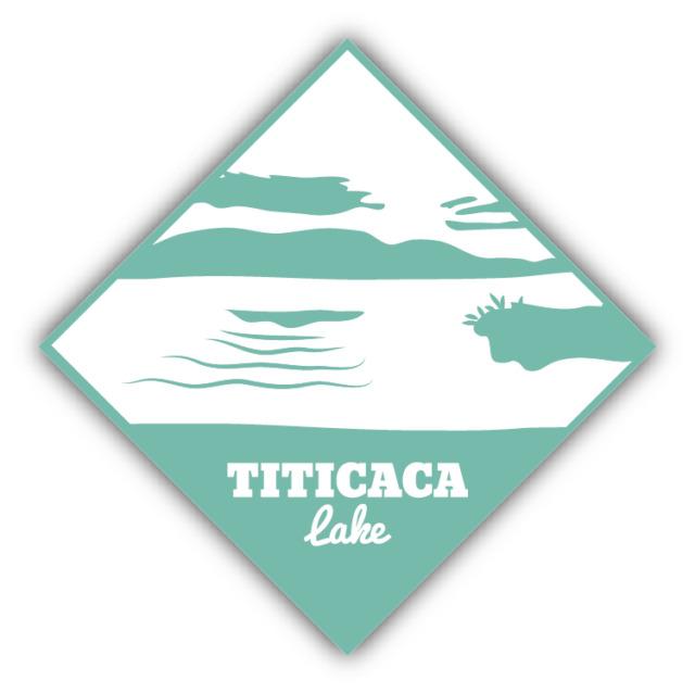 """Titicaca Lake Travel South America Car Bumper Sticker Decal 5"""" x 5"""""""