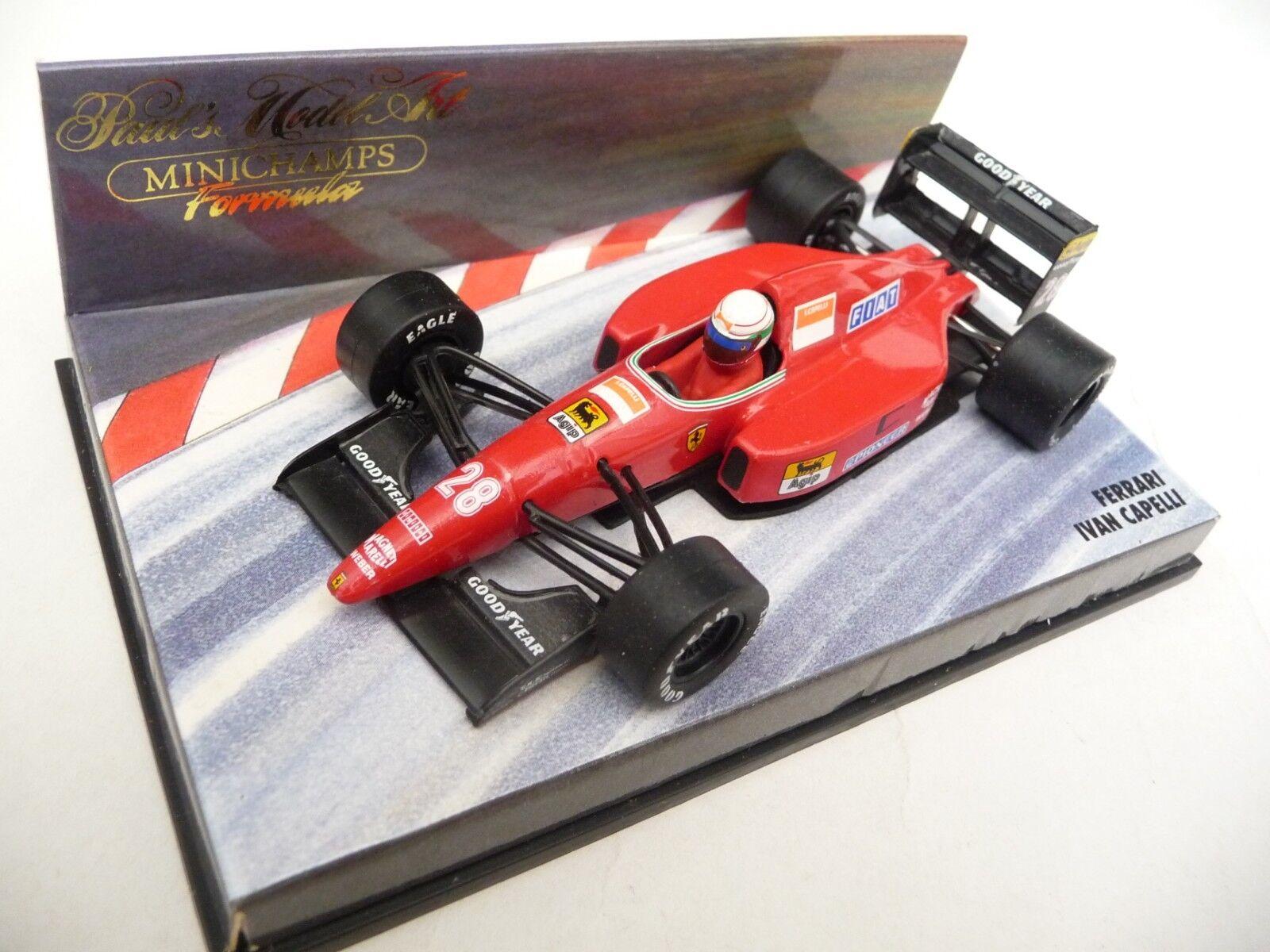 Minichamps 1 43 Ferrari F92 1992 Ivan Capelli 920028
