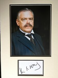 KEVIN-McNALLY-DOWNTON-ABBEY-ACTOR-SUPERB-SIGNED-COLOUR-PHOTO-DISPLAY