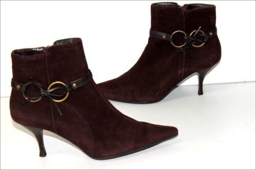 Boots Bottines Pointues Nubuck Foncé Be T Minelli Marron 37 Z1qOnEx