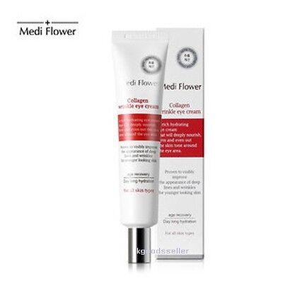 Korea Medi Flower Collagen Wrinkle Eye Cream 40ml Nutrition Moisture Elasticity