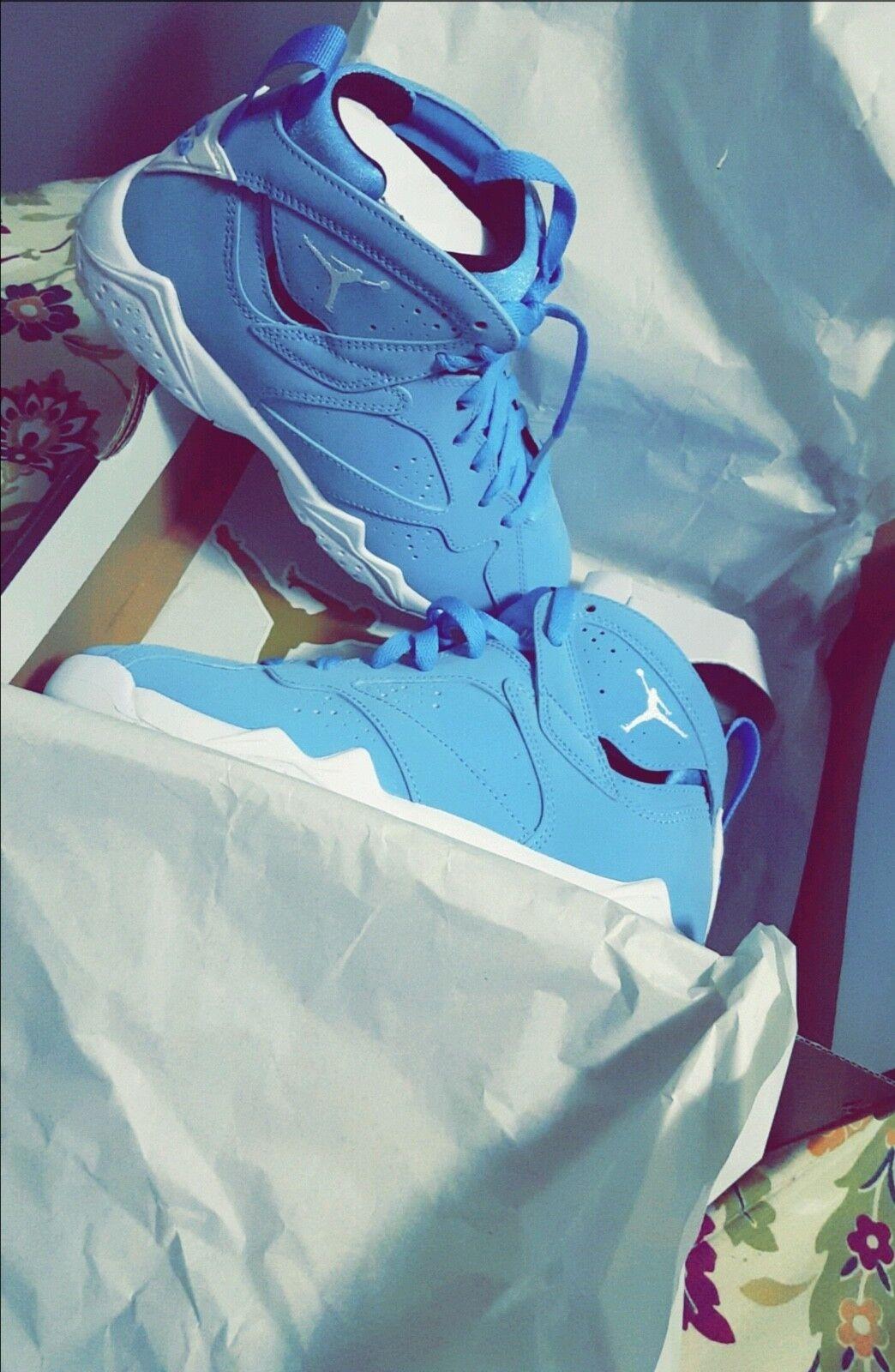 Nike Air Jordan Retro 7 VII Pantone University Blue
