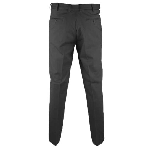Mens Chino Trouser D555 Duke Big King Size Jeans Work Formal Button Zip Casual