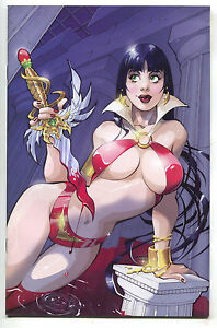 Vampirella-Quarterly-Summer-2008-1-C-Harris-NM-Franchesco-Variant