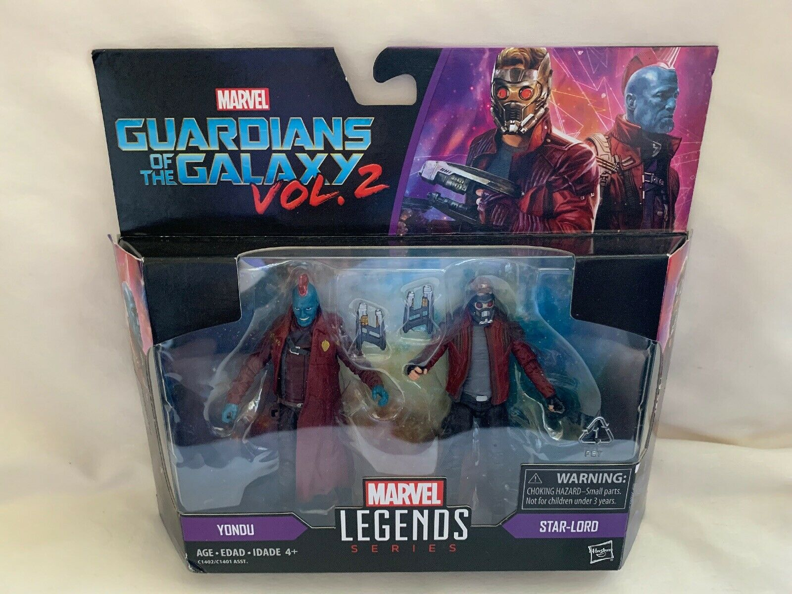 Marvel Legends Series Guardians Of The Galaxy Vol. 2 2 2 Yondu And Star-Lord Set a1fc5c