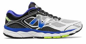 New Balance Men's 860v6 Shoes Blue with Black & Grey