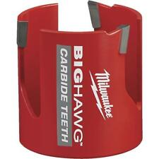 10 Pk Milwaukee High Performance Big Hawg 2 916 In Dia Carbide Tipped Hole Saw