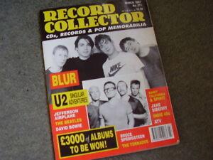 RECORD COLLECTOR 1997 BlurU2Jefferson AirplaneTornadoes - Macclesfield, Cheshire, United Kingdom - RECORD COLLECTOR 1997 BlurU2Jefferson AirplaneTornadoes - Macclesfield, Cheshire, United Kingdom