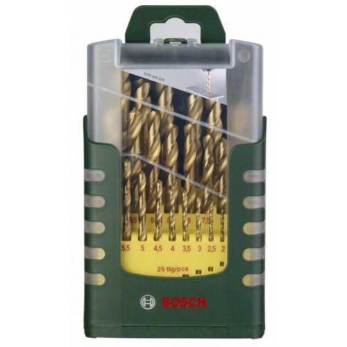 Bosch 2607017152 Metallbohrer-Set HSS-TiN,19-teilig,Kunststoffbox