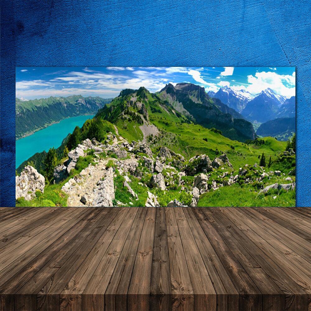 Crédence de cuisine en verre Panneau 120x60 120x60 120x60 Nature Montagnes 91f600