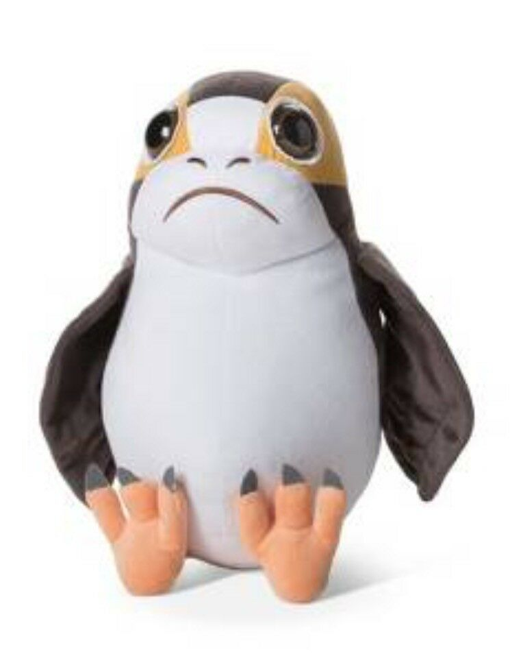 Star Wars® Porg Braun/Weiß Throw Pillow  NWT NEWStuffed Toy-HOT MUST HAVE TOY