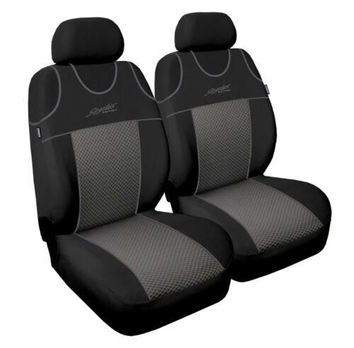 3 2X CAR SEAT COVERS for front seats fit Mercedes ML Class VEST SHAPE