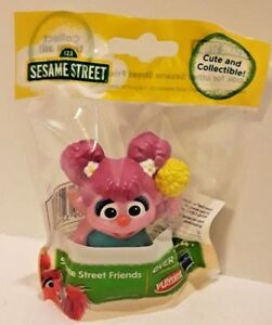 Details About Sesame Street Abby Cadabby Plastic Figure Toy Cake Topper New 2 5 In Tall