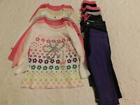 Girls Clothes Size 18 Mo Lot Fall Shirts Pants Brand Retail $214