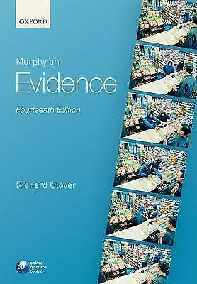 1 of 1 - Murphy on Evidence by Richard Glover