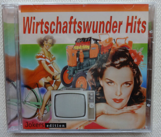 CD Wirtschaftswunder Hits 2012 Caterina Valente Bill Ramsey Heinz Erhardt ua