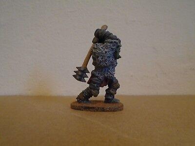 Grenadier Ogre Berserker #908 Bianco Metallo Dipinto Figura Fantasy-mostra Il Titolo Originale Rafforzare La Vita E I Sinews