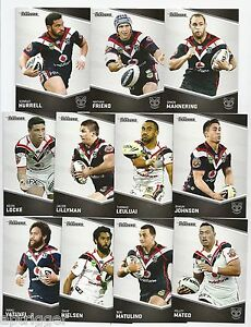 2014-NRL-Traders-WARRIORS-Base-Team-Set